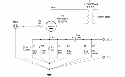 Figure 3 - Driver stage design